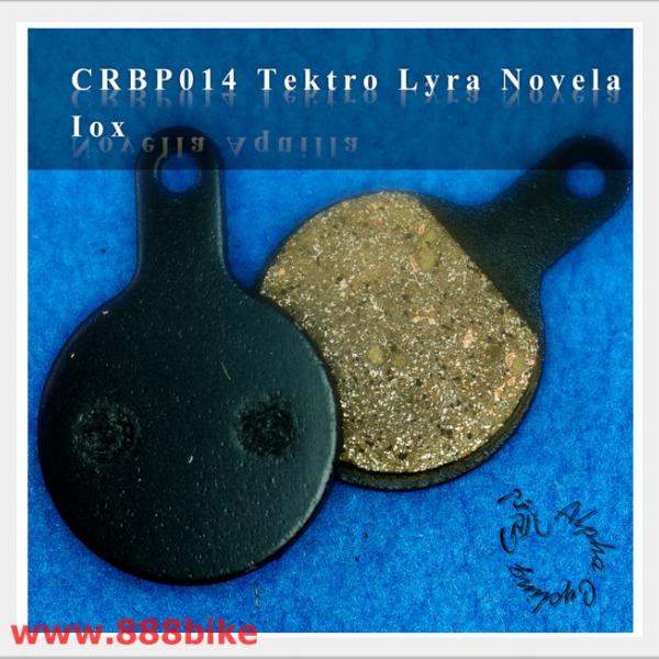 2 PAIRS BICYCLE DISC BRAKE PADS FOR TEKTRO IOX LYRA NOVELA DISC BRAKE H//P