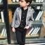 เสื้อสูทเด็กชายสีเทา (เฉพาะเสื้อสูทค่ะ) [size 2y-3y-4y-5y-6y] thumbnail 3