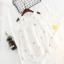เดรส สีขาว แพ็ค 5 ชุด ไซส์ 90-100-110-120-130 thumbnail 1
