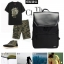 กระเป๋าเป้สะพายหนังผสมไนลอน แบบ หยางหยาง (สีดำ) thumbnail 8