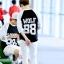 เสื้อEXO WOLF88 สีขาวดำ thumbnail 3