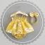 ชุดเซต 3 ชิ้นลายดอกไม้สีเหลือง แพ็ค 4 ชุด [size 6m-1y-18m-2y] thumbnail 1