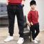 กางเกง สีดำ แพ็ค 5 ชุด ไซส์ 120-130-140-150-160 (เลือกไซส์ได้) thumbnail 1