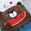ชุดเซตเสื้อลายน้องหมี+กางเกงลายแตงโม แพ็ค 4 ชุด [size 6m-1y-2y-3y] thumbnail 3
