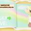Cream MOMO Schedule Diary (Blue) thumbnail 5