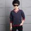 เสื้อ+กางเกง สีกรม แพ็ค 4 ชุด ไซส์ 120-130-140-150 (เลือกไซส์ได้) thumbnail 3