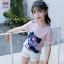 เสื้อ สีชมพู แพ็ค 5 ชุด ไซส์ 120-130-140-150-160 (เลือกไซส์ได้) thumbnail 1