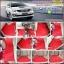 พรมปูพื้นรถยนต์ Toyota Fortuner 2008-2014 ไวนิลสีแดงขอบแดง thumbnail 1