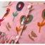 ชุดเดรสลายดอกไม้สีชมพู แพ็ค 4 ชุด [size 6m-1y-18m-2y] thumbnail 4