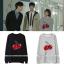 เสื้อแขนยาวกันหนาว (Sweater) ลายเชอรี่ แบบ Eunji thumbnail 1