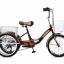 จักรยานสามล้อ 20นิ้ว UMEKO TRIVELO 7เกียร์ พร้อมตะกร้าหน้าและหลัง thumbnail 1