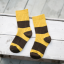 ถุงเท้าสั้น สีเหลืองน้ำตาล แพ็ค 12 คู่ ไซส์ ประมาณ 3-5 ปี thumbnail 3