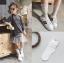 ถุงเท้ายาว สีขาว แพ็ค 10 คู่ ไซส์ S (ประมาณ 1-3 ปี) thumbnail 1