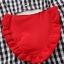 ชุดเซตเสื้อลายสก็อตสีดำ+กางเกงสีแดง แพ็ค 4 ชุด [size 6m-18m-2y-3y] thumbnail 5