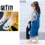 ถุงเท้าสั้น คละสี แพ็ค 10คู่ ไซส์ XL (อายุประมาณ 9-12 ปี) thumbnail 8