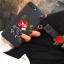 เคสซัมซุง J2 tpuดอกกุหลาบพิมพ์เส้นนูนพร้อมสายคล้อง thumbnail 3