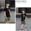 เสื้อ+กางเกง สีดำ แพ็ค 5 ชุด ไซส์ 130-140-150-160-170 (เลือกไซส์ได้) thumbnail 4