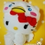 Rare Limited Edt. SANRIO HELLO KITTJapanese Costume ตุ๊กตาเฮลโหลคิตตี้ มาในชุดเชิดสิงโตสีขาวน่ารักๆมากจ้า thumbnail 4