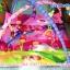 เพลยอิมราคาประหยัดสีชมพูน่ารัก พร้อมตัวตุ๊กตาห้อยมีเสียงน่ารัก (ขนาด 82*87*40 ซม.) thumbnail 1
