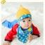 หมวกสีเหลืองพร้อมผ้าพันคอ แพ็ค 3 ชิ้น thumbnail 1