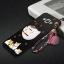 เคส Samsung A8 พลาสติกสกรีนลายการ์ตูนแมวกวักนำโชค Lucky Neko พร้อมที่ตั้งและที่เก็บสายในตัวคุ้มค่ามากๆ ราคาถูก thumbnail 6