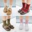 ถุงเท้าสั่น สีชมพู แพ็ค 12คู่ ไซส์ M (ประมาณ 3-5 ปี) thumbnail 2