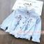 เสื้อ สีฟ้า แพ็ค 6 ชุด ไซส์ 80-90-100-110-120-130 thumbnail 1