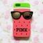 เคสซิลิโคนลายแตงโมใส่แว่น ไอโฟน 4/4s thumbnail 3