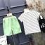 ชุดเซตลายแตงโมสีเขียว แพ็ค 5 ชุด [size 2y-3y-4y-5y-6y] thumbnail 3