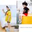 ถุงเท้าสั้น คละสี แพ็ค 10คู่ ไซส์ S (อายุประมาณ 1-3 ปี) thumbnail 6