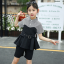 เสื้อ+กางเกง สีดำ แพ็ค 5 ชุด ไซส์ 120-130-140-150-160 (เลือกไซส์ได้) thumbnail 1