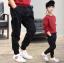 กางเกง สีดำ แพ็ค 5 ชุด ไซส์ 120-130-140-150-160 (เลือกไซส์ได้) thumbnail 2