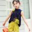 เสื้อ+กางเกง สีกรม แพ็ค 5 ชุด ไซส์ 120-130-140-150-160 (เลือกไซส์ได้) thumbnail 2