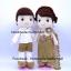 ตุ๊กตาแต่งงานชุดไทย ชุดสีทอง thumbnail 2