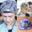 หมวกแฟชั่น EXO SEHUN สีน้ำเงินขาว thumbnail 1