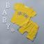 เสื้อ+กางเกง สีเหลือง แพ็ค 4 ชุด ไซส์ 80-90-100-110 thumbnail 1