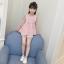 เสื้อ สีชมพู แพ็ค 5 ชุด ไซส์ 110-120-130-140-150 (เลือกไซส์ได้) thumbnail 2