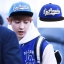 หมวกแฟชั่น exo bllank 5 space losangeles(สีน้ำเงิน) thumbnail 1