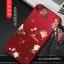 เคส J7 Prime แดงกำมะหยี่พิมพ์ลายมีสายห้อยดอกไม้ thumbnail 4