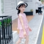 เสื้อ+กางเกง สีชมพู แพ็ค 6 ชุด ไซส์ 110-120-130-140-150-160 (เลือกไซส์ได้) thumbnail 3