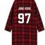 เสื้อคลุมลายสก็อตสีแดง BTS thumbnail 10
