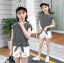 เสื้อ+กางเกง แพ็ค 5 ชุด ไซส์ 120-130-140-150-160 (เลือกไซส์ได้) thumbnail 2
