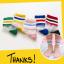 ถุงเท้าสั้น คละสี แพ็ค 10คู่ ไซส์ XL (อายุประมาณ 9-12 ปี) thumbnail 7