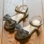 รองเท้าเด็กแฟชั่น สีเงิน แพ็ค 5 คู่ ไซต์ 26-27-28-29-30 thumbnail 1
