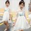 ชุดกระโปรง สีขาว แพ็ค 5 ชุด ไซส์ 120-130-140-150-160 (เลือกไซส์ได้) thumbnail 2