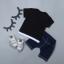 เสื้อ+กางเกง สีดำ แพ็ค 4 ชุด ไซส์ 80-90-100-110 thumbnail 2