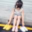รองเท้าเด็กแฟชั่น สีขาว แพ็ค 5 คู่ ไซต์ 26-27-28-29-30 thumbnail 6