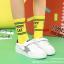 ถุงเท้าสั้น สีเหลือง แพ็ค 12 คู่ ไซส์ S ประมาณ 1-3 ปี thumbnail 1
