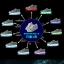 รองเท้าผ้าใบมีไฟ LED ลายโน้ตดนตรี (เปลี่ยนสีได้ 7 สี) thumbnail 8