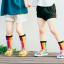 ถุงเท้ายาว สีรุ้ง แพ็ค 12 คู่ ไซส์ L ประมาณ 6-8 ปี thumbnail 4